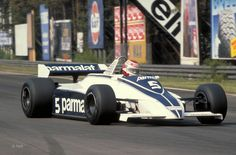 Nelson Piquet, Brabham-Ford BT49C, Zolder, 1981 - I BUILT this one for Carrera slot racing back then... - still have the body somewhere
