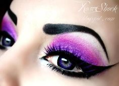 makeup make up beauty eyes eye shadow eyeshadow pretty beautiful goth gothic