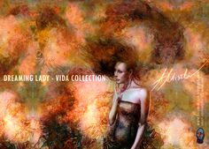 'Dreaming Lady' was publication in 'ImagineFX' magazine and first season book 'Infected by art'. NOW my artwork is avaliable in VIDA collection product on site http://shopvida.com/collections/voices/adam-miszk I invite everyone who wants to give me your love voice in fashion and buy my beautiful products.