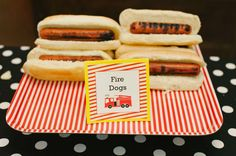 Firetruck, Fire Engine Birthday Party Ideas | Photo 34 of 46