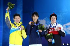 Yuzuru Hanyu Photos - Medal Ceremony - Winter Olympics Day 8 - Zimbio