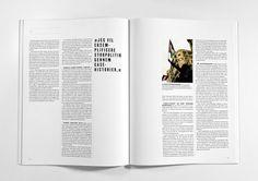 Journalisten Magazine - re-design of a magazine on journalism