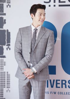 20150513 KimWooBin at Sieg's 20th Anniversary 2015 F/W Collection CR:: w-hereyouare