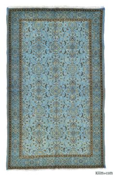 Over-dyed Anatolian Vintage Rug