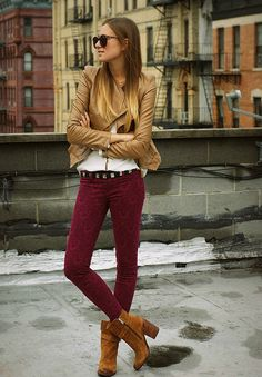 Skinny jeans and boots. I will never have enough of them!