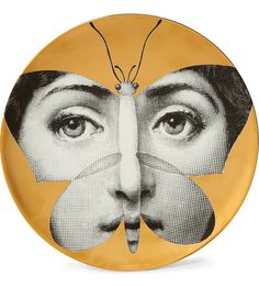 """Plate 96 from Piero Fornasetti's """"Theme and Variations"""" series"""