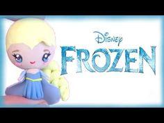 Disney's Frozen Elsa Chibi Polymer Clay Tutorial - YouTube