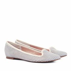 Sole Society - Pointed toe flats - Lauryn - Frappe / 64.95