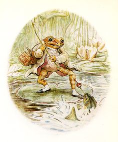 ❁❀Epinglé par CM ❃✿Beatrix Potter » Jeremy Fisher..♔...
