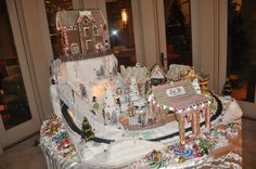 Gingerbread House Extravaganza  Christmas 2011Event by AOC Las Vegas