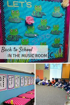 Back to School in the music room: A blog hop with TONS of ideas for your music lessons!