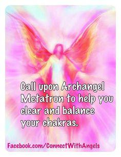 METATRON - Archangel METATRON to Balances your Chakras.
