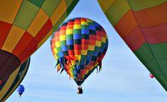 800 horas de vuelo es el tiempo de vida de un globo aerostático. (Foto: ARCHIVO EL UNIVERSAL)