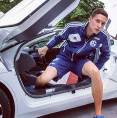 They have all of this beauty getting out of a fancy-looking car. | 54 Reasons The German World Cup Team Might Actually Be The Hottest World Cup Team