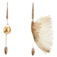 Solo Wing earrings