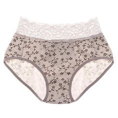 Intimate Portal Women s Vine Lace Leak Proof Sanitary Panty dfcc3db77