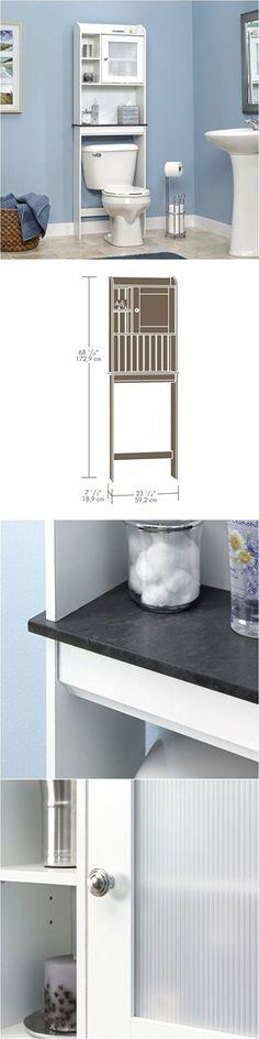 Bath Caddies and Storage 54075: 3 Shelf Bathroom Organizer Over The ...