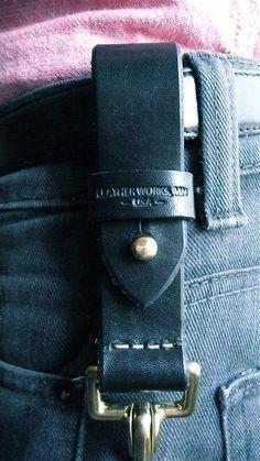 Leather Works MN. The Iron Range.