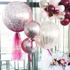 can't get enough of a gorgoues signature giant confetti and tulle balloons #tulleballoons #balloonsmelbourne