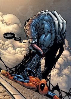 "The Venom Symbiote from the Spectacular Spider-Man (vol. 2) ""The Hunger"" arc."