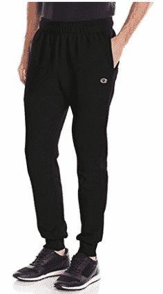 Champion Men's Powerblend Retro Fleece Jogger Pant - Sport News Fleece Joggers, Jogger Pants, Best Joggers, Champion Sweatpants, Champion Brand, Hot High Heels, Sport Pants, Athletic Wear, Men Casual