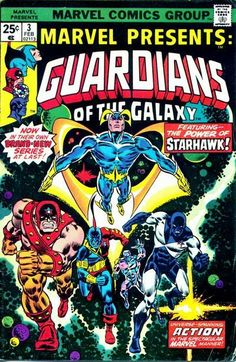 Marvel Presents #3 - The Guardians of the Galaxy.
