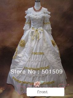 renaissance gown Picture - More Detailed Picture about luxury Medieval Renaissance Gown snow white princess Dress event Costume Victorian Gothic Marie Antoinette Colonial Belle Ball Picture in Movie & TV costumes from Ningbo TAOPU boutique Store Ivory Lace Wedding Dress, Long Wedding Dresses, Bridal Dresses, Dress Wedding, Renaissance Wedding Dresses, Renaissance Gown, Princess Bridal, Princess Ball Gowns, Costume Dress