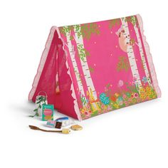 American Girl Sweet Dreams Garden Tent for WellieWishers™ Dolls