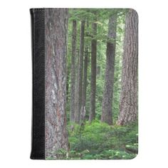 Green Forest Photo Kindle Case