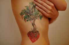 tattoo tree with roots in heart - Google Search