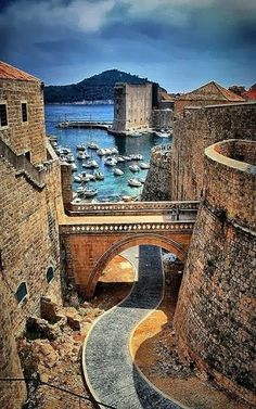 Dubrovnik, Croatia, Summer 2007 (beautiful ancient city)