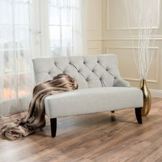 online shopping for Christopher Knight Home 299950 Nicole Settee, Light Grey from top store. See new offer for Christopher Knight Home 299950 Nicole Settee, Light Grey Fabric Settee, Grey Fabric, Light Grey Walls, Furniture, Love Seat, Home Furniture, Light Beige, Noble House, Settee Loveseat