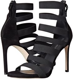 Wrap up another evening with Stuart Wheitzman Mummy heels in black.