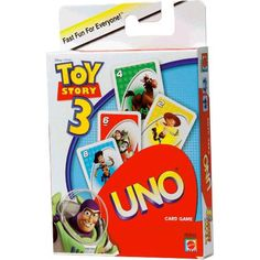 Uno Card Game, Uno Cards, Card Games, Toy Story Theme, Toy Story 3, Disney Games, Disney Ideas, Weird Toys, Ready To Play
