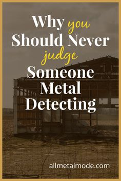 Metal Detecting Tips, Ways To Destress, Agoraphobia, Metal Detector, Dark Places, Lifeguard, New Perspective, Give It To Me, Told You So