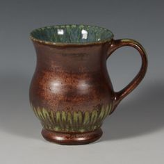 Great way to use Stroke & Coat and Stoneware glaze together.