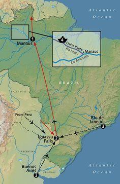 Into the Amazon & Iguassu 2013 - General Tours