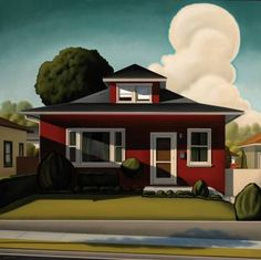 Enlargement, 2007, 48 x 48 inches, oil on canvas © Kenton Nelson 2007
