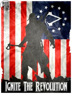 Assassins Creed 3 Revolution Poster by on DeviantArt Assassins Creed Quotes, Revolution Poster, Assassin's Creed Wallpaper, Gamers, Party Time, Video Game, Nerd, Geek Stuff, Videogames