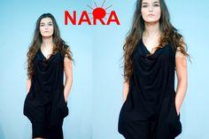 Minikleider - NARA® Casual Kleid (lässig&sportlich) Gr 34... - ein Designerstück von Berlinerfashion bei DaWanda
