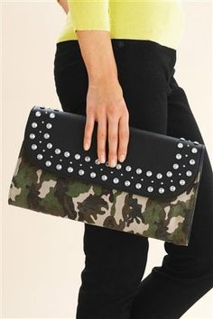 Buy Camo Clutch Bag from the Next UK online shop