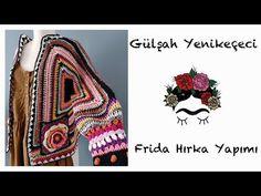Çok Sorulan Frida Hırka Yapımı - YouTube Crochet Cardigan, Crochet Patterns, Youtube, Pullover, Knitting, Videos, Crochet Jacket, Jackets, Tricot