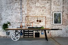 Kitchen by Mike on Wheels by Koskela | Yellowtrace.