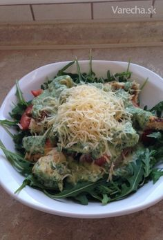 Medvedí FIT šalát - Recept Pesto, Steak, Cabbage, Vegetables, Fitness, Food, Essen, Steaks, Cabbages