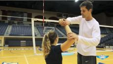 Volleyball Hitting Drills (Arch, Pike & Extend)