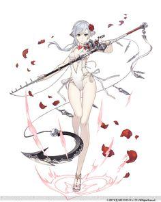 『シノアリス』と『釣り★スタ』がコラボ。水着姿のスノウホワイトとピノキオが登場 Female Character Design, Character Concept, Character Art, Concept Art, Manga Girl, Anime Art Girl, Fantasy Characters, Anime Characters, Anime Krieger