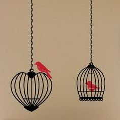 Caged Birds Decal