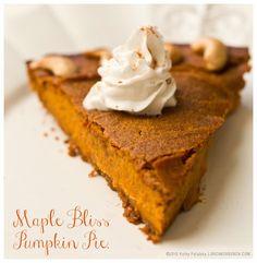 Vegan maple pumpkin