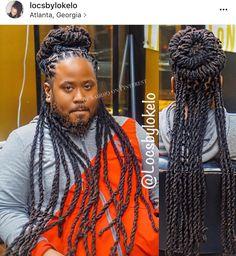 Mens Dreadlock Styles, Dreads Styles, Braid Styles, Dreadlock Hairstyles For Men, Braided Hairstyles, Men's Hairstyle, Black Hairstyles, Loc Styles For Men, Dread Braids