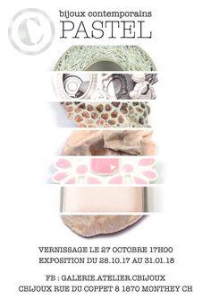 """Cbijoux exposition de bijoux contemporains sur le thème """"pastel"""" - cbijoux- création d'alliances de mariage et de bijoux contemporains Creations, Eyeshadow, Pastel, Beauty, Jewelry, Design, Promise Rings, Radiation Exposure, Contemporary"""